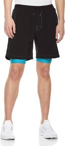 Blue Chill Running Shorts