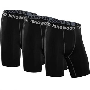 Isnowood Compression Shorts